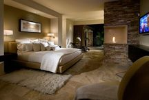 master bedroom design brown