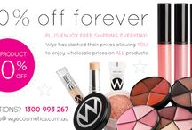 Our Products & Services / The Wye Cosmetics Range