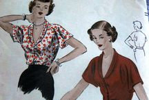 Sewing patterns & vintage fashion plates / by Cindy Powers