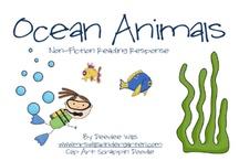 Exploring Oceans / October Preschool Theme