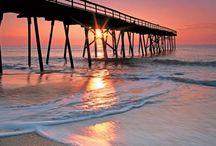 Wilmington Area Beaches / Highlighting the amazing beaches of the Wilmington, NC area including Wrightsville Beach, Kure Beach, and Carolina Beach.
