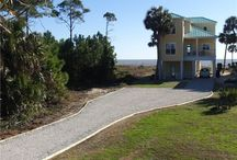 Two and Three Palms -Cape San Blas Vacation Rental / Cape San Blas Vacation Rental Beach Vacation Rentals- Two Gorgeous Homes Pet Friendly- Concierge- Gulf Front- Pool
