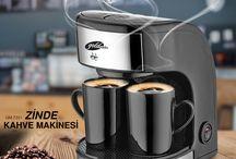Zinde Kahve Makinesi / Sıcacık ve taptaze kahve artık evinde!