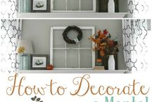 Seasonal Inspiration: Winter / Practical ideas and tips for decorating your home for the winter season without spending a lot of money and time!
