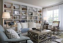 Family Room Ideas / by Mari Rabadan