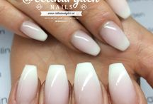 manicures white