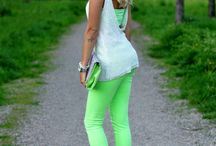 Summer Closet/Greens outfits / by Kim Boyette