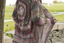 Crochet shawls/jerseys