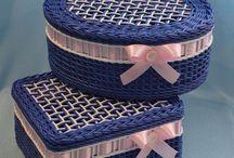бумажное плетение