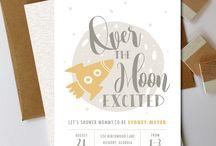 Baby shower invitation inspiration