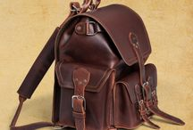 Luscious Leather Backpacks / I'm on a mission to find the perfect marriage of quality, sustainability, and affordability, all in a lovely leather backpack.