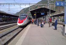 Alpine station platforms