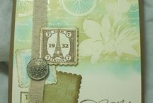 Postage Themed Cards / by Lisa Swarm