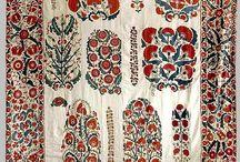 сюзани и узбек. текстиль