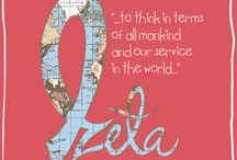 Zeta tau Alpha / by Jillian Bowers