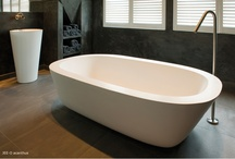 JEE-O acanthus bath / Freestanding bath made from DADOquartz with integrated overflow. (L 1850 x W 1130 x H 500 mm).