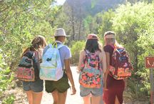 JanSport x FARM / The Brazilian brand, FARM, along with iconic backpack brand, JanSport, has created an inspiring and limited edition collection designed to travel the world with you.   Where will you go?