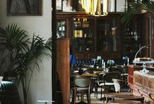 German cafe-restaurant-pub interior style