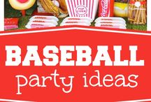 Baseball Party Ideas / Do you have a little slugger? Baseball birthday party, baseball baby shower, World Series Party, Little League Championship party.