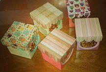 pequeñas cajitas dulces♡