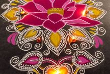 Floor Art of India...!!