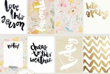 1. Planners: project life cards