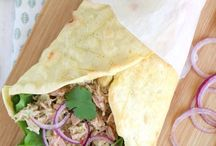 VOEDING 17 : Wraps/Tortilla's/Ommeletten