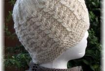 Knitting, crocheting