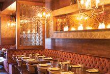 Restaurant & Bar Fireplace Ideas