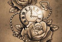 Tatuagens De Relógio De Bolso