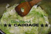 Food - Cabbage Recipes / by Cerisa Clark Dayringer