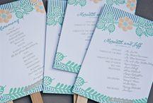 Wedding Programs / by Kate Kirschner