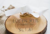 Bruiloft trouwring box
