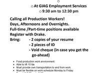 Job Fairs - Foire d'emploi / Job fairs in the area!   Foire d'emploi dans la région!