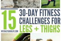 30 Day Workout Challenges / These 30 Day Workout Challenges are perfect for getting your motivated! Work on one body part at a time or double up for more intense workouts.  / by Becca Ludlum