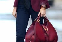 BURGUNDY GLAM / Fashion and colours