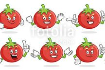 fruit character set