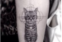 Tetování kočky