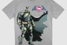 Batman vs. Superman / T-shirt męski z wizerunkiem Batmana, na licencji Batman kontra Superman