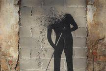 Street Art / Art in the streets, not too much graffiti.