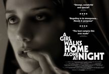A Girl Walks Home Alone At Night - Vampire Women / Ana Lily Amirpour's iconic Iranian film A Girl Walks Home Alone At Night is showing on Film4 on the 10th April, so we take a look at some of the best vampire women in film and TV history.