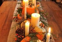 Thanksgiving Decorating Ideas / by Matt and Shari