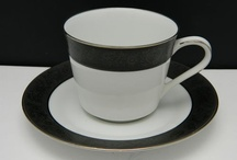 Noritake and other crockery designs / I have a beautiful old black and white Noritake set. Love the look of it.