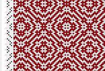 vzory tkaní