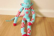 Cute Sock Monkeys