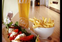 Saturday Special / Any Gourmet Boerie, 330ml SAB beerie and chips for 55bucks. Every Saturday / by Gourmet Boerie