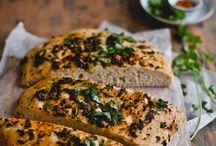 Foodz - Savoury baking / Breads, muffins, scones, quiches etc Vegetarian - Vegan.