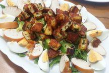 LCHF / Keto salads