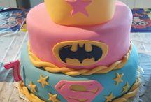 Supergirl/batgirl party