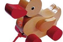 Push it - Pull it!  / Safe educational wooden pulling and pushing toys for babies and young children